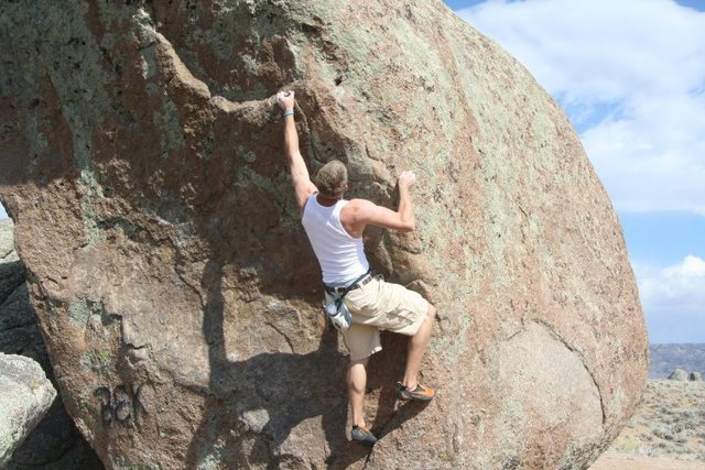 Rock Climbing Photo: Corner Drug