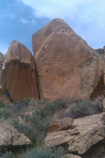 Rock Climbing Photo: BiSandstone Boulders