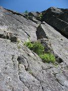 Rock Climbing Photo: Nice, compact granite.