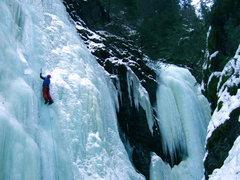 Rock Climbing Photo: definitely icy