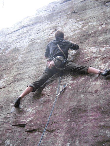 Rock Climbing Photo: Smeaglin it Up, 5.10a.