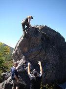 Rock Climbing Photo: Feeling the wind