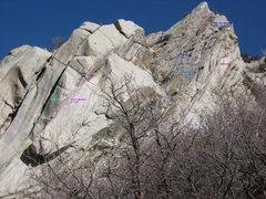 Rock Climbing Photo: general topo