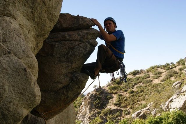 Ferguson Canyon... Posing above Unction, wishing the thing was higher