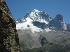 "Rock Climbing Photo: View from the base of the ""aiguillette.""..."