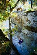 Rock Climbing Photo: Smeaglin it Up