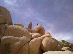 Rock Climbing Photo: HOT BOULDER HELL!!!!