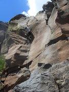 Rock Climbing Photo: Bush Rush- short but sweet.