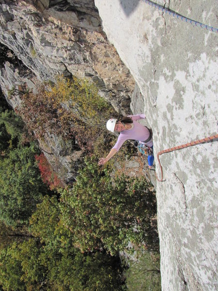 Rock Climbing Photo: Having fun on CCK