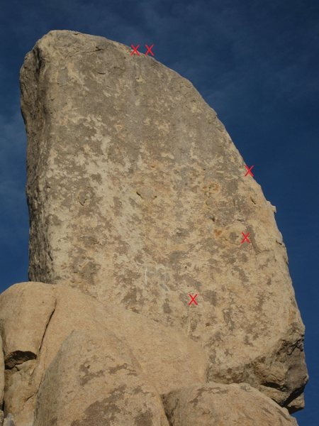 Rock Climbing Photo: Southwest aspect of Lost Pencil - with Indian Give...