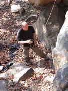 Rock Climbing Photo: Me spotting / belaying