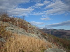Rock Climbing Photo: Right is the summit buttresses and not seen is 'Ma...