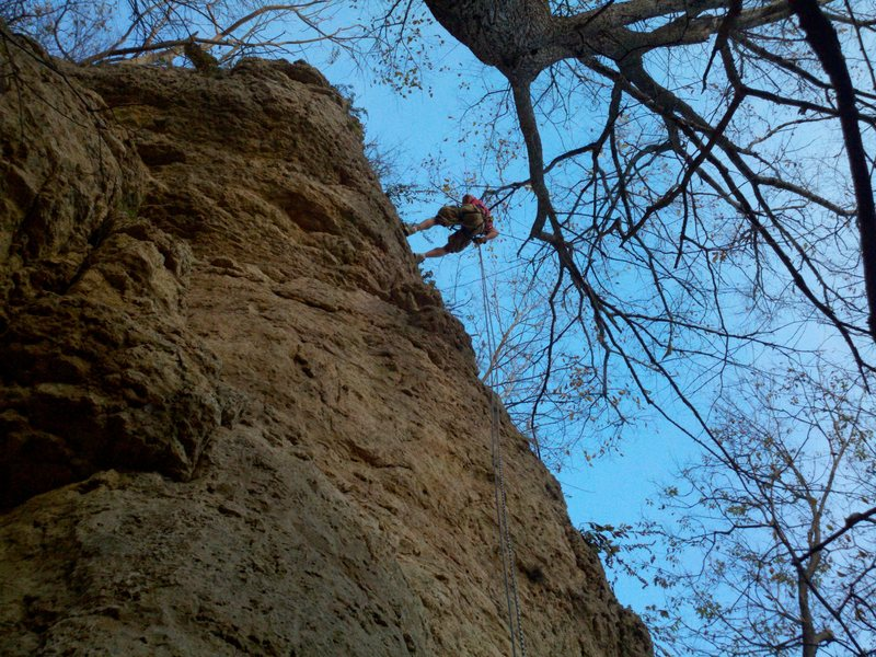 Rappelling on Home Run