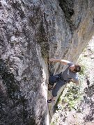 """Rock Climbing Photo: Enrique also known as """"little Ricky"""" wor..."""