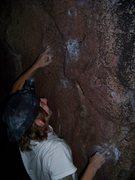 Rock Climbing Photo: Can you say mono?