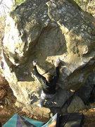 Rock Climbing Photo: The Gentleman sending.