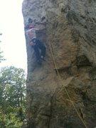 Rock Climbing Photo: Me climbing the Prow