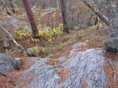 Rock Climbing Photo: This rock at top was everywhere for my hands and f...