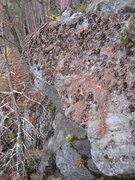 Rock Climbing Photo: This is where this climb could start from. I start...