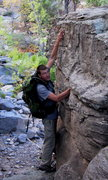 Rock Climbing Photo: Pointing out some ridiculous placements! This anch...