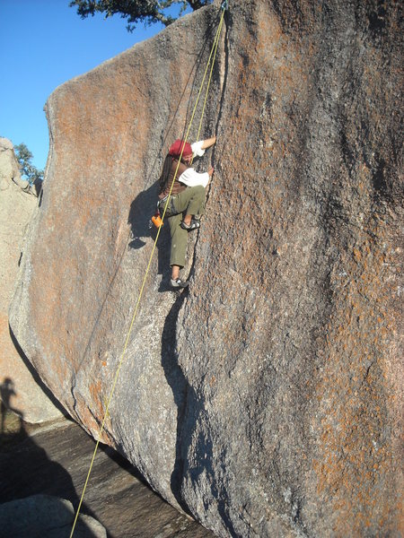 Ale toproping Pumper Number 9 during the Halloween Costume Climb!