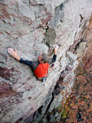Rock Climbing Photo: Top moves of Prohet's Honor. Photo: Nate Erickson.