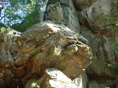 "Rock Climbing Photo: literally ""Around the Horn"""