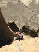 Rock Climbing Photo: That's a long way down! Spot the car