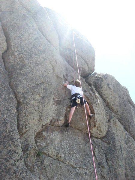 Rock Climbing Photo: Hollow Feeling