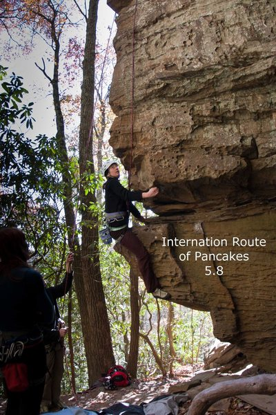 Rock Climbing Photo: pic International Route of Pancakes
