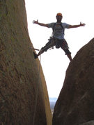 "Rock Climbing Photo: Angel after conquering ""the wedge,"" &quo..."