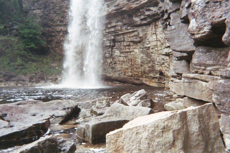 Awosting Falls traverse, Shawangunks