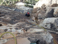 Rock Climbing Photo: Looking down Book of Prophecy