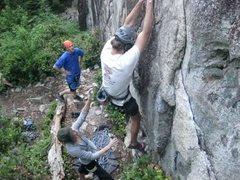 Rock Climbing Photo: Start of Pleasant Pheasant