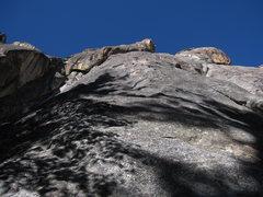 Rock Climbing Photo: The start of Whiskey Bill.