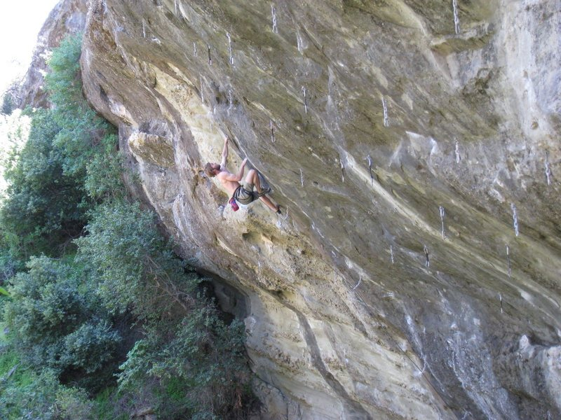Old photo of Andy not sending on Chips. Yes, it is that steep.