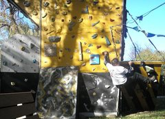 Rock Climbing Photo: Bouldering time.