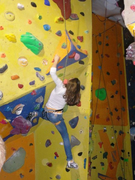 Rock Climbing Photo: Indoor roofs for the winter time.