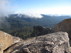 Rock Climbing Photo: View from the summit looking southeast towards Lit...