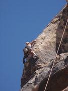 Rock Climbing Photo: Adam paz At the crux