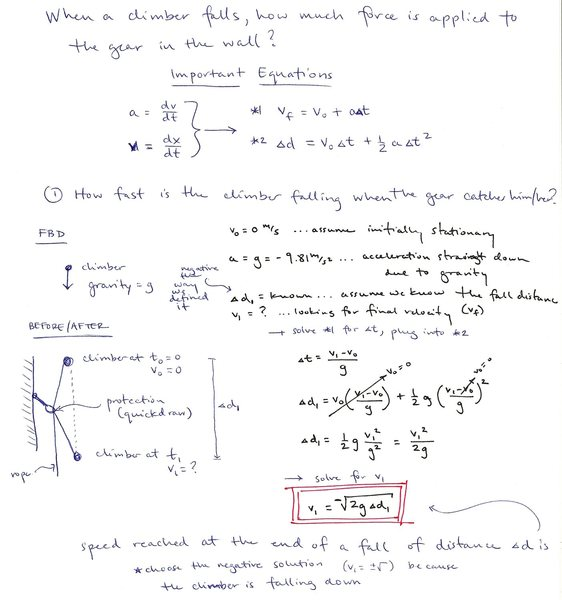 Impact Force Calculations - 1