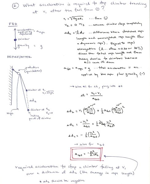 Impact Force Calculations - 2