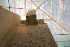Rock Climbing Photo: There is a plat form where you can top out at and ...