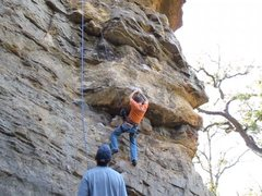 Rock Climbing Photo: Goin up Pee Wee's