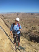 Rock Climbing Photo: Fine views from the belay