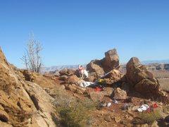 Rock Climbing Photo: Its waiting time !!