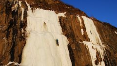 Rock Climbing Photo: High on Roadside Attraction. Photo by Denise Zirkl...
