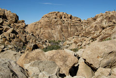 Rock Climbing Photo: Corral Wall from Dodge City Canyon. Photo by Blitz...