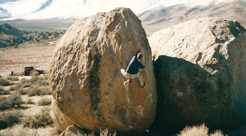 Rock Climbing Photo: buttermilker