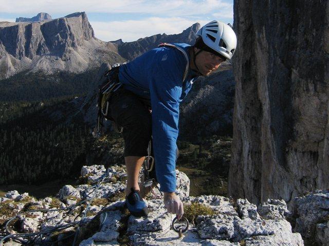 Summit of Torre Barancio.